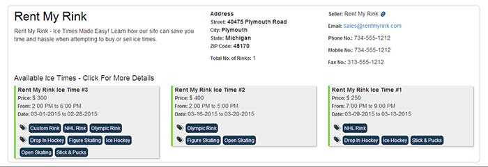Rent My Rink Ice Time Buying