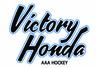 Victory Honda Script Logo